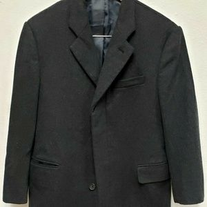Men's Gray Banana Republic Wool Trench Coat